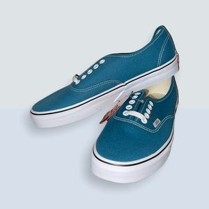 💫 NEW Vans Authentic Blue Coral Skate Shoes / Sneakers